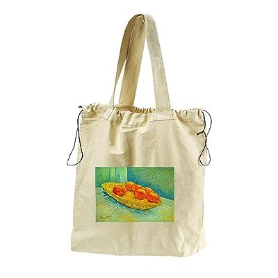 c4287adac9e5 70%OFF Six Oranges (Van Gogh) Canvas Drawstring Beach Tote Bag ...