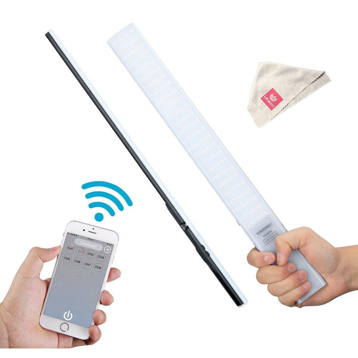Yongnuo YN360S Ultra-thin,Ultra-light Handheld Ice Stick LED Video Light 3200k to 5500k Controlled by Phone App Fill Light Stick