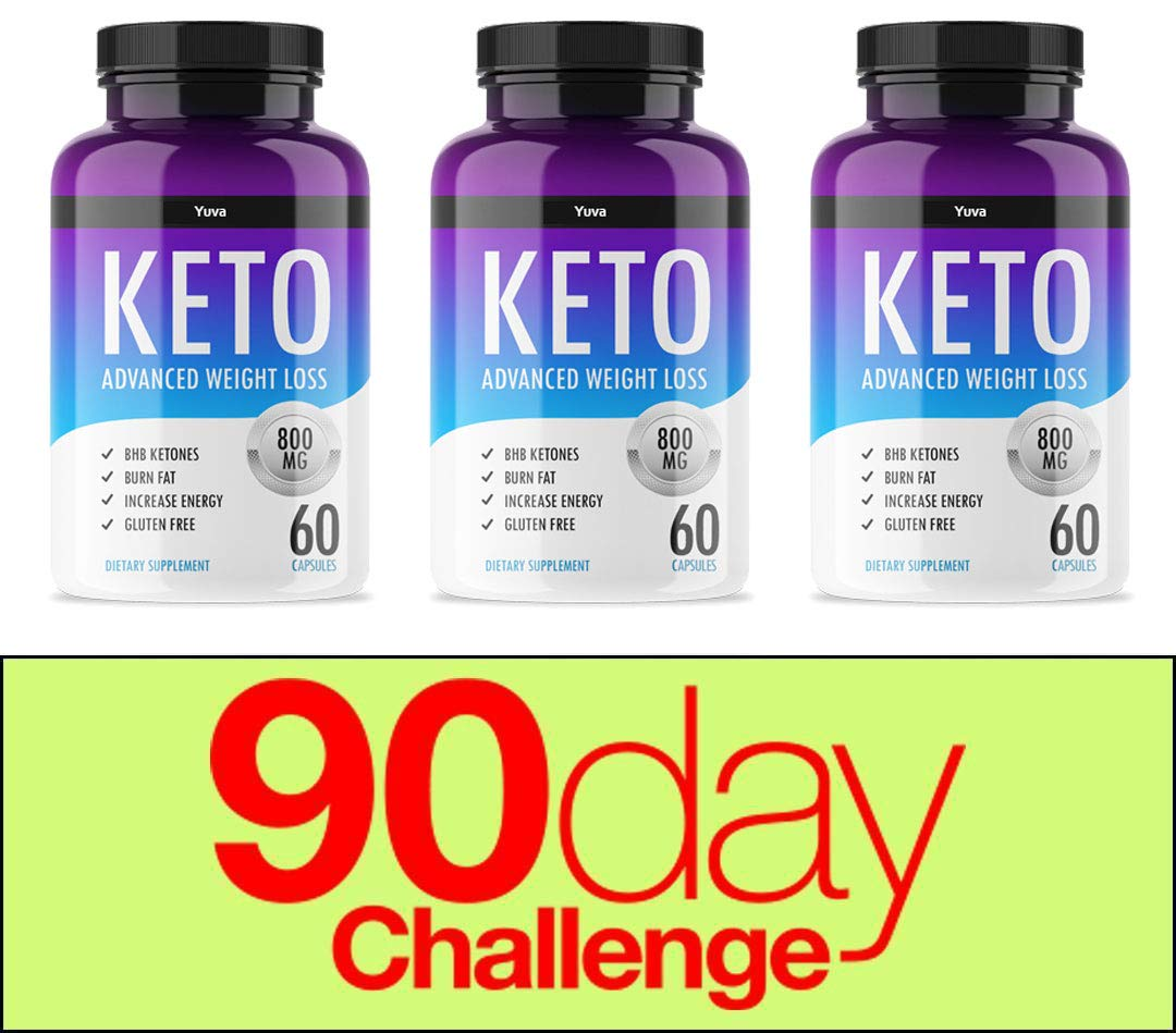 QFL YUVA Diet Keto Advanced Weight Loss(180 Capsules) Ketosis/Keto Diet Weight Loss (3) by QFL