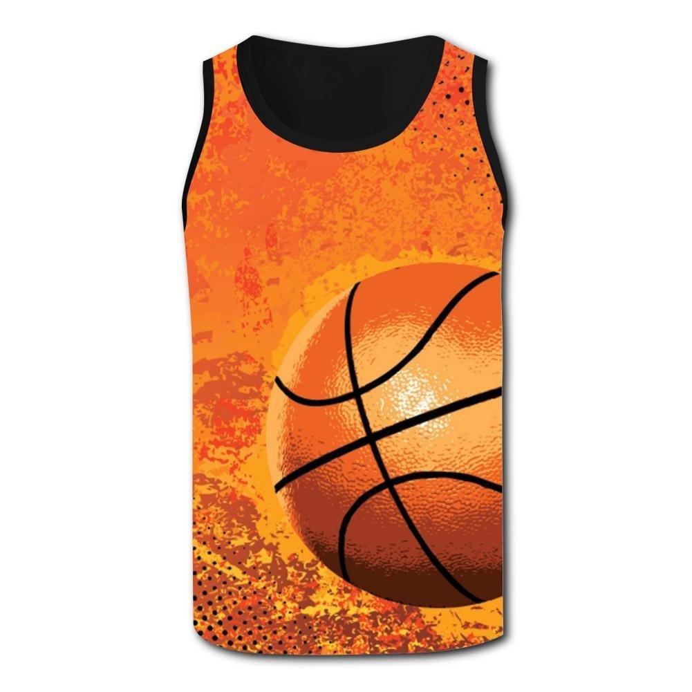 Gjghsj2 Amazing Basketball Tank Top Vest Shirts Singlet Tops Sleeveless Underwaist for Men Basketball