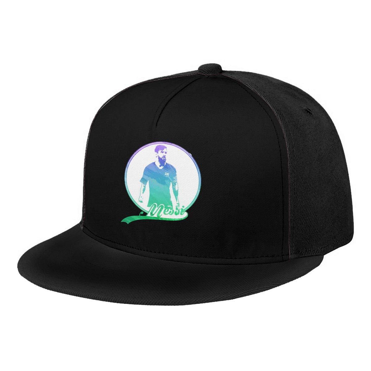DeniCar Unisex Adjustable Baseball Caps Lio-nel-Me-SSI-Face-Logo Skull Cap