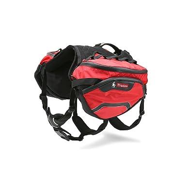 Amazon.com : Pettom Dog Backpack Adjustable Saddlebag Outdoor ...