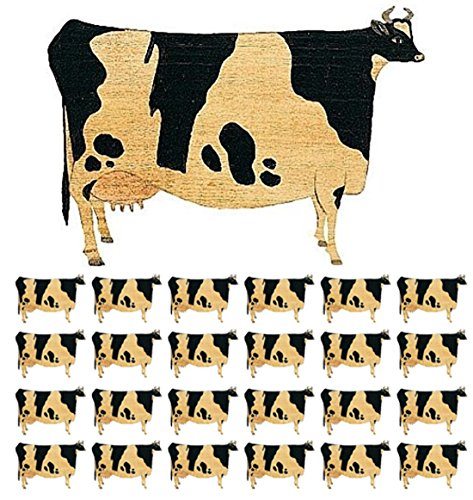 ZaZaTool - 25 COWS wall stickers prepasted decals farm country barn kitchen decor