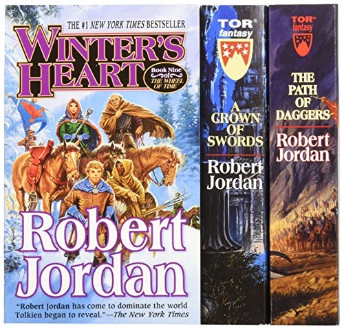 Adventure Path Set - The Wheel of Time, Box Set 3: Books 7-9 (A Crown of Swords / The Path of Daggers / Winter's Heart)