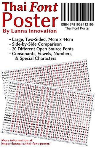 Download Thai Font Poster pdf epub
