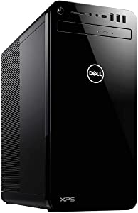 2019 Dell XPS 8930 Desktop Newest Gen Intel i7-9700 16GB RAM 1TB HDD 256GB M.2 NVMe SSD GTX 1050TI WINDOWS 10 PRO (Renewed)