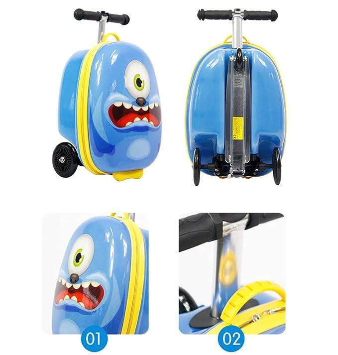 Amazon.com: BBUKK - Maleta de patinete para niños y niñas ...