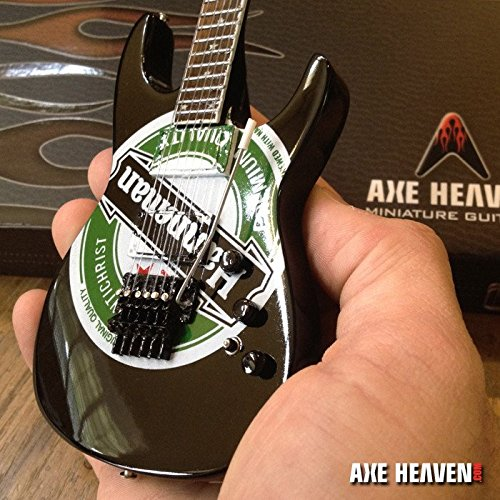 slayer-jeff-hanneman-green-heineken-logo-miniature-guitar-replica-collectible
