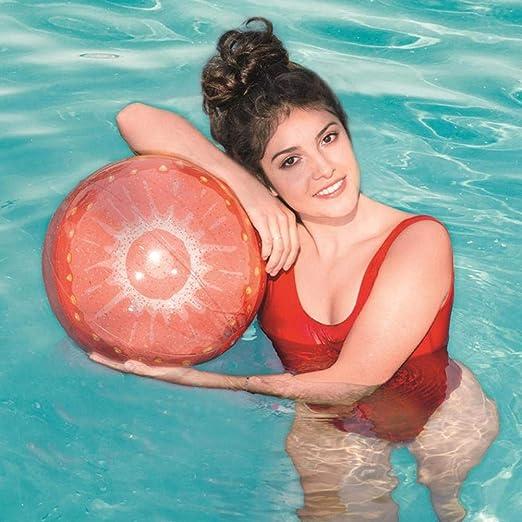 SHOH 30cm Bolas De Playa,Piscina Inflable del Arco Iris ...