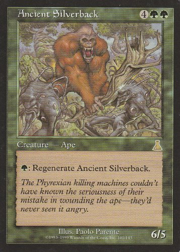 Urzas Destiny Magic Card - Ancient Silverback (Magic the Gathering : Urza's Destiny #101 Rare)