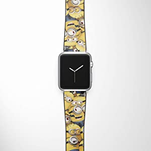 Watch Band Compatible with Apple iWatch All Series 38mm 40mm 42mm 44mm Cartoon Design Strap (dis12) (38/40mm)