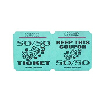 AmazonCom  Green  Raffle Tickets  Roll Of   Office