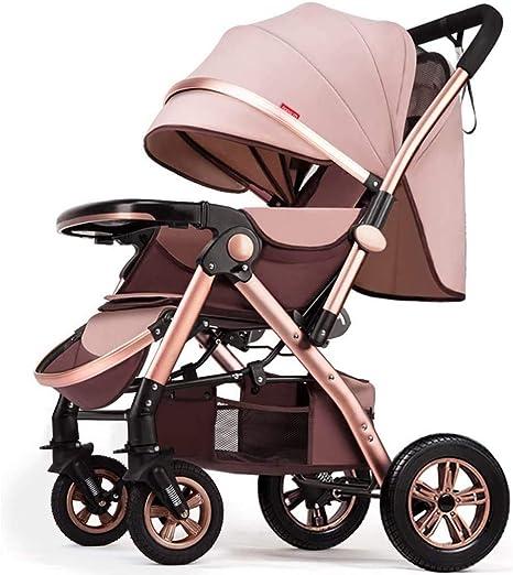 Opinión sobre OESFL Cochecito compacto y ligero cochecito de bebé for el niño, silla de paseo plegable silla de paseo, compacto y ligero portátil de viaje del carro, multi-función de dos vías de alta paisaje sentar