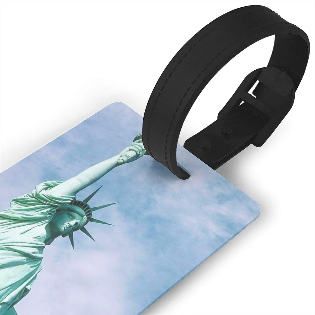 Statue Of Liberty Cruise Luggage Tag For Travel Bag Suitcase Accessories 2 Pack Luggage Tags