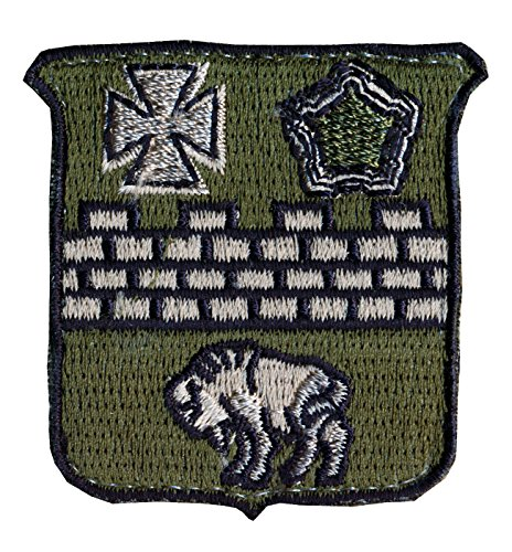 Military Patch Dui Design - 5