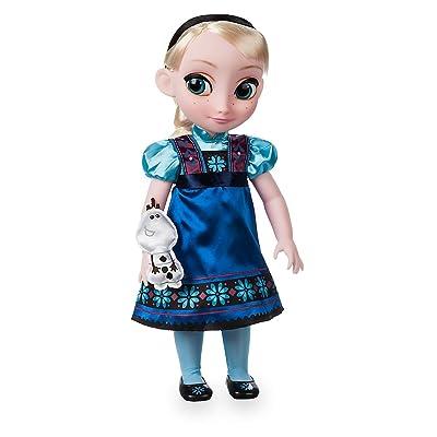 Disney Animators' Collection Elsa Doll - Frozen - 16 Inch: Toys & Games