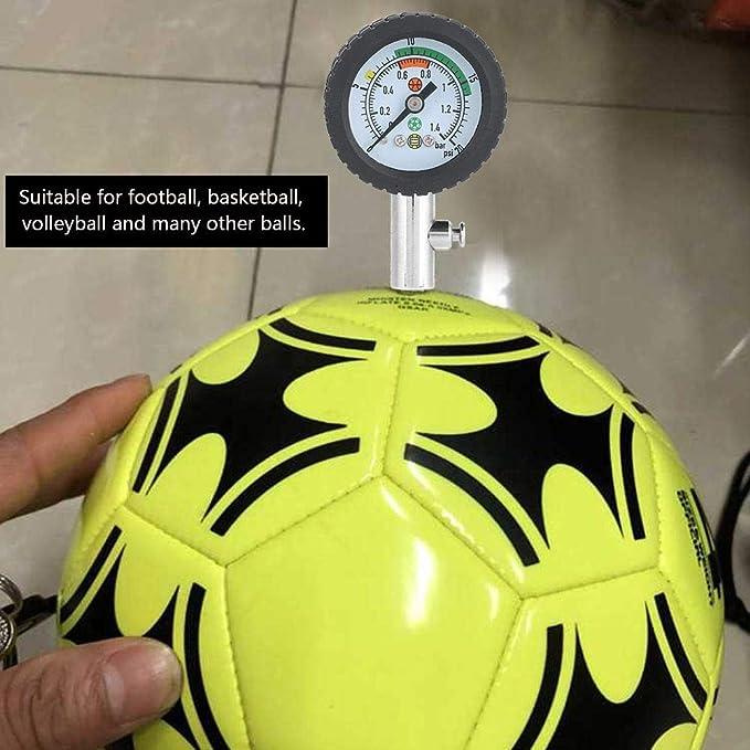 THE BEST DAY - Medidor de presión de Aire Tipo balón de fútbol ...