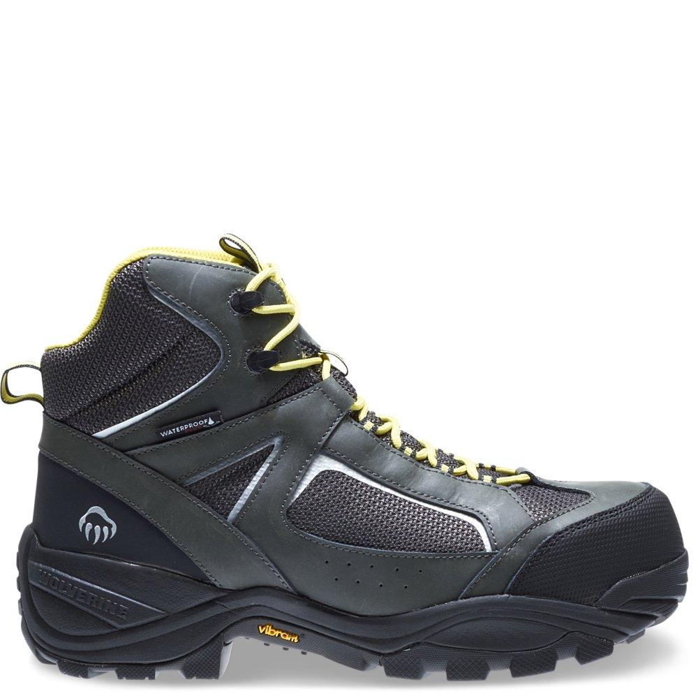Wolverine Men's Quest Puncture Resistant Wpf Composite Toe Work Boot, Grey, 11.5 3E