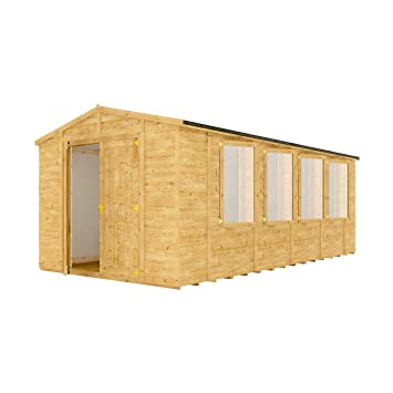 Support pour Timber 3 m fenêtre Grandmaster Abri de jardin ...