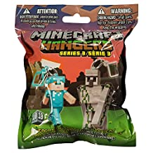 Minecraft 3-Inch Figure Hangers Blind Pack, Series 3 (Styles Vary)