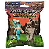 Minecraft 3' Figure Hangers Blind Pack, Series 3 (Styles Vary)