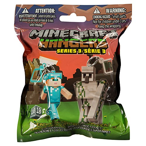 "Minecraft 3"" Figure Hangers Blind Pack, Series 3"