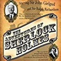 The Adventures of Sherlock Holmes Radio/TV Program by Arthur Conan Doyle Narrated by Sir John Gielgud, Orson Welles