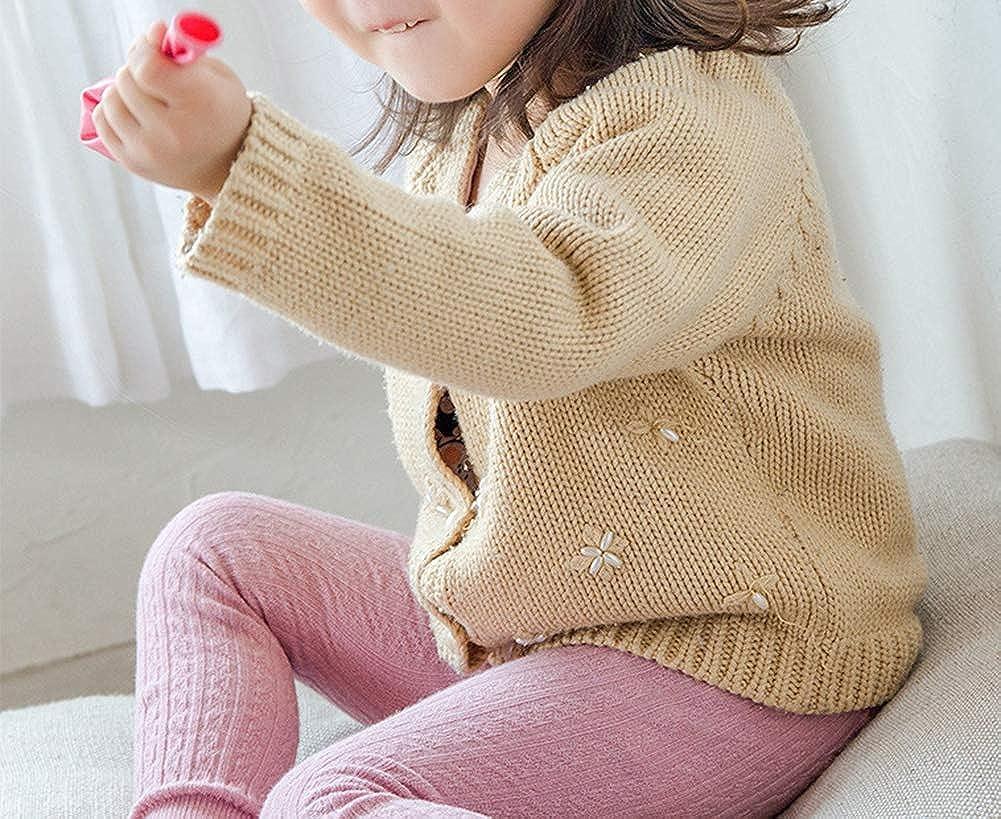 CHUNG Toddler Boys Girls 3 Pack Cotton Cartoon Warm Tights Leggings Stockings Pants Pantyhose 3M-6Y