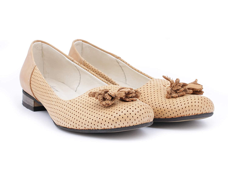 Zapato 010 Sand Damen Ballett Braun - Sand 010 - Größe  EU 38 c07975