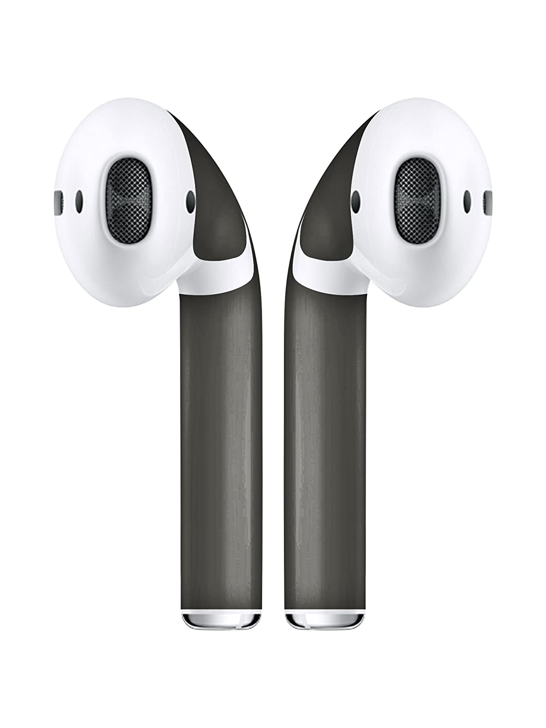 Airpod Skins Protective Wraps - Newest Single Piece Model - Free Lifetime Replacements Included - Maximum Coverage Available (Space Grey) 5GY04