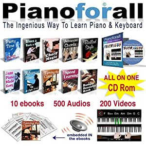 Pianoforall - The Ingenious New Way to Learn Piano & Keyboard for PC or MAC