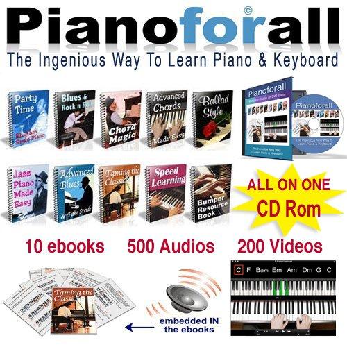 Amazon Pianoforall The Ingenious New Way To Learn Piano