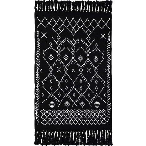 Amazoncom Wolala Home 100 Cotton Hand Woven Reversible Rag Rug