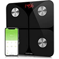 KAMTRON Smart Body Fat Scales - Bathroom Scales Body Composition Analyzer Monitor, High Precision Measuring for BMI, Visceral Fat, Muscle, Body Age etc, Smart APP for Fitness Tracking