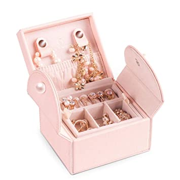 Joyas para mujer Organizador y almacenamiento Mini caja de ...