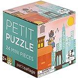 Petit Collage Petit Puzzle, New York City Bridge, 24 Pieces