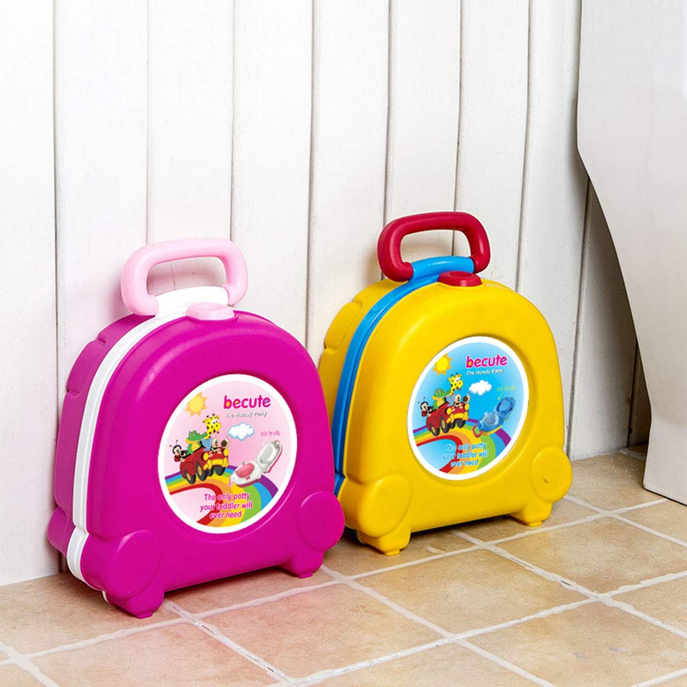 LWYJ Portable Kid Travel T/öpfchen Toilettensitz Kleinkinder T/öpfchen Urinal Auto Faltbare Urinal Training Toilette