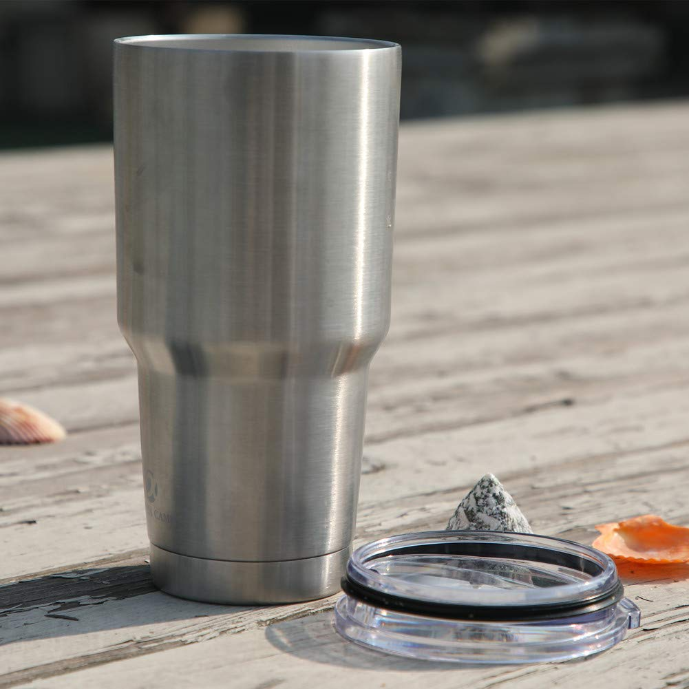 ALPHA CAMP 30 oz Stainless Steel Vacuum Insulated Tumbler