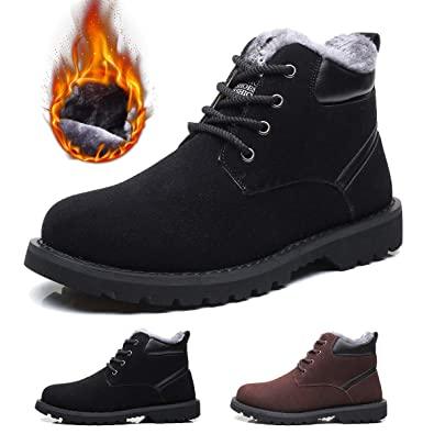 0142942e69d gracosy Winter Boots for Men