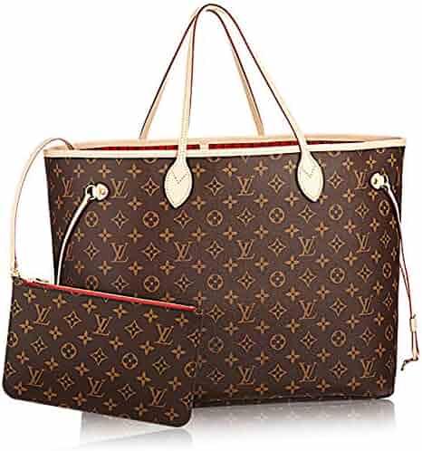 9be2de0203fb Authentic Louis Vuitton Neverfull GM Monogram Canvas Cherry Handbag  Article:M41179