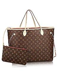 Authentic Louis Vuitton Neverfull GM Monogram Canvas Cherry Handbag Article:M41179