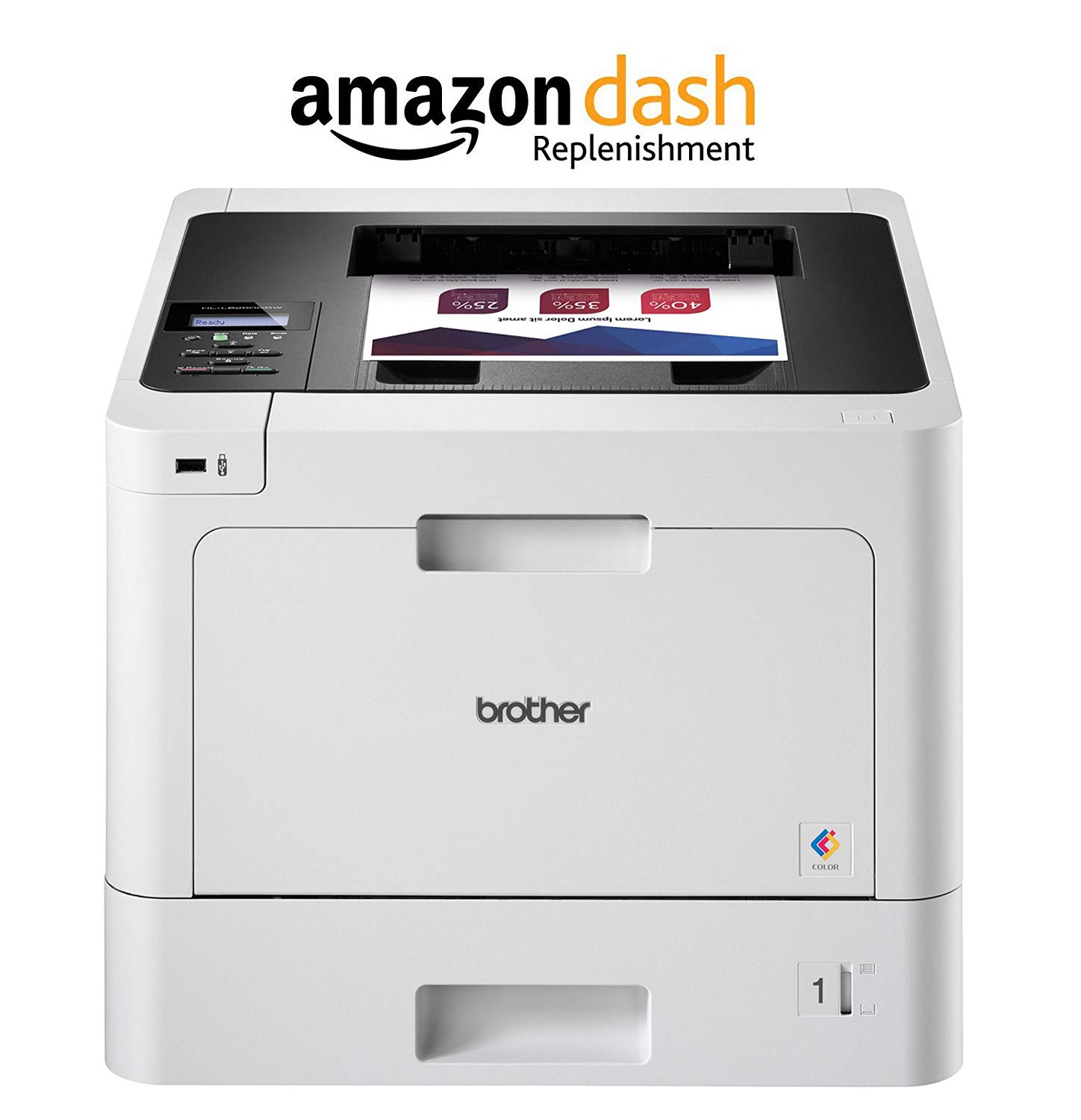 Amazon.com: Brother HL-L8260CDW Business Color Laser Printer, Duplex  Printing, Flexible Wireless Networking, Mobile Device Printing, Advanced  Security ...