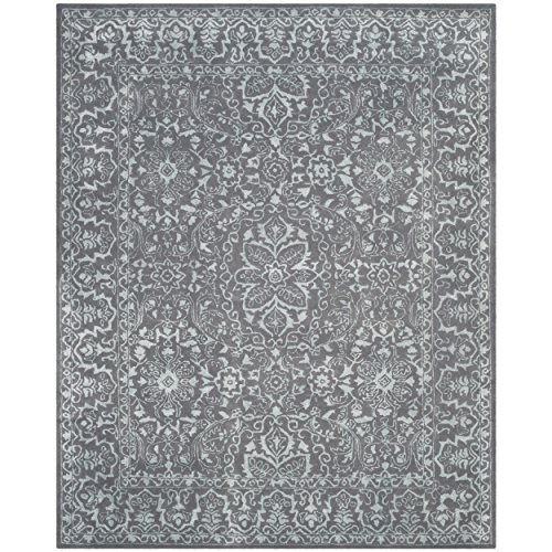 Safavieh Glamour Collection GLM516C Opal and Grey Area Rug, 9' x 12'