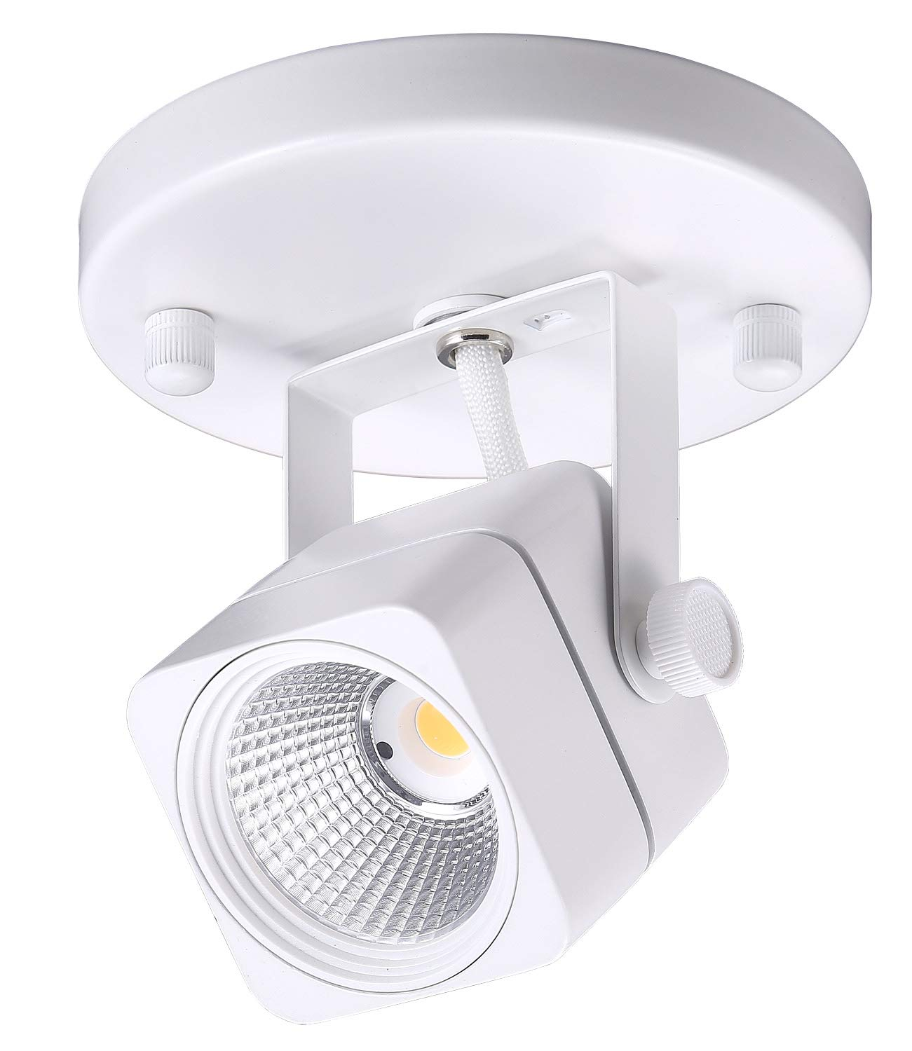 Cloudy Bay LED Ceiling Light Fixture Spot,CRI90+ Warm White Dimmable,White Finish by Cloudy Bay (Image #1)