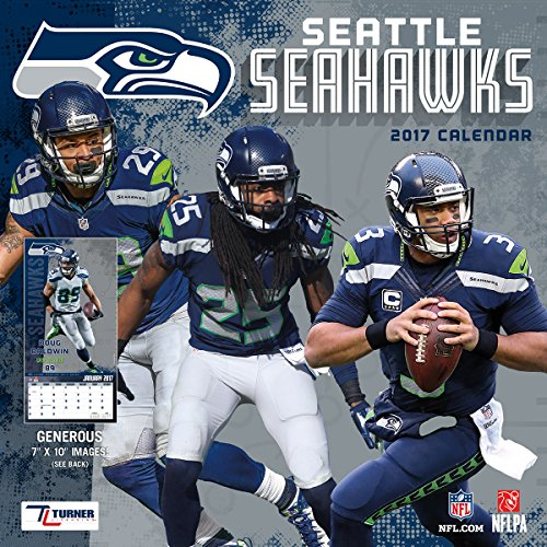Turner Licensing Sport 2017 Seattle Seahawks Mini Wall Calendar (17998040578)
