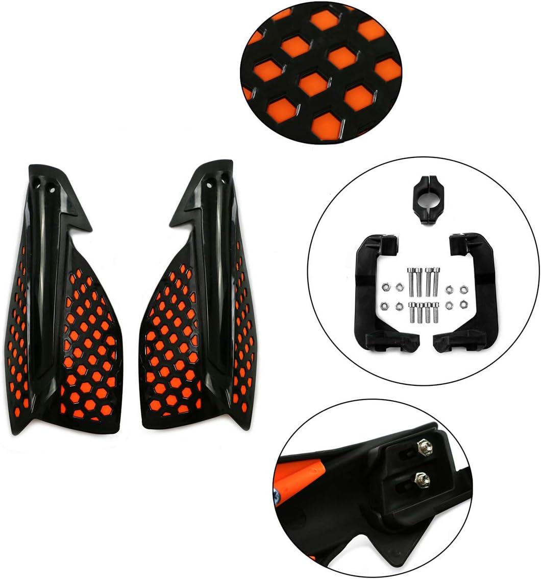 Yellow Hunter-Bike Universal Motorcycle Handguards for Suzuki DRZ400 125 250 300 450 RMZ250 RMZ450 RM RMZ Motocross Dirt Bike hand guard