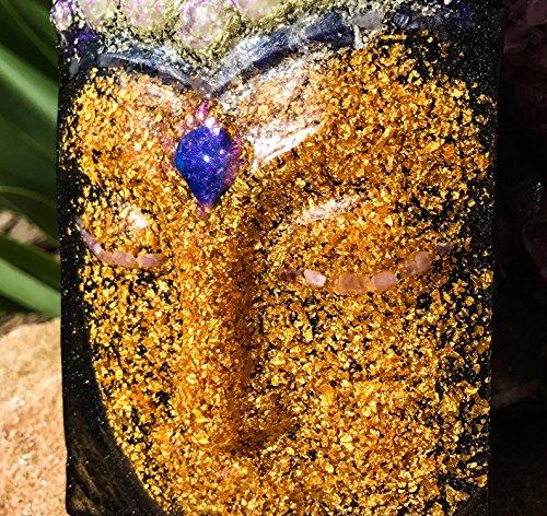 Orgonite Buddha / 24K Gold Orgone by Violet Flame Orgone (Image #4)