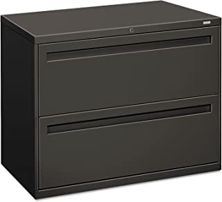 product image for HON 782LS 700 Series Two-Drawer Lateral File, 36w x 19-1/4d, Charcoal