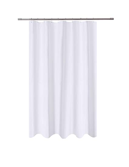 Amazoncom Ny Home Fabric Shower Curtain Liner White 54 X 78
