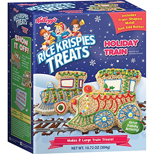 Crafty Cooking Kits Kellogg's Rice Krispies Treats Holiday Train Kit, 10.72 ()